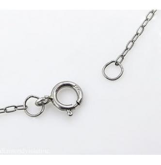 2.46ct Estate Vintage Old European Diamond Pendant Necklace Platinum